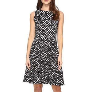 NWT Calvin Klein Women's Laser Cut Flare Dress 12